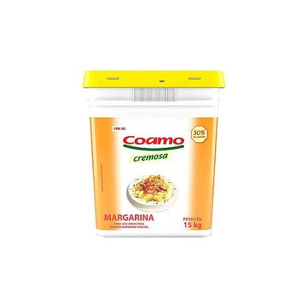 Margarina Coamo 50% Com Sal 14,5 kg