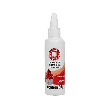 Corante Softgel Mago Vermelho 60 G