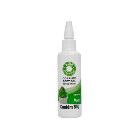Corante Softgel Mago Verde 60 G