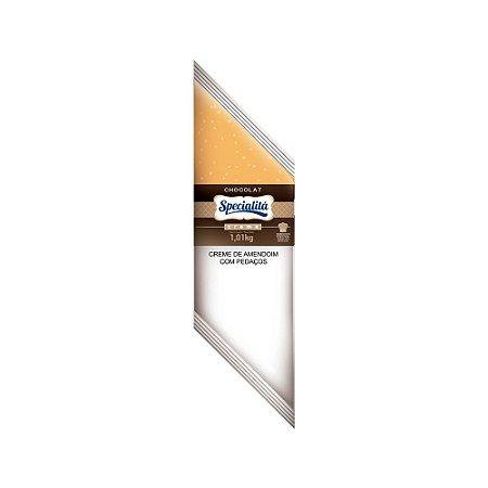 Chocolat Pasta de Amendoim Com Pedaços Bisnaga 1,01 KG