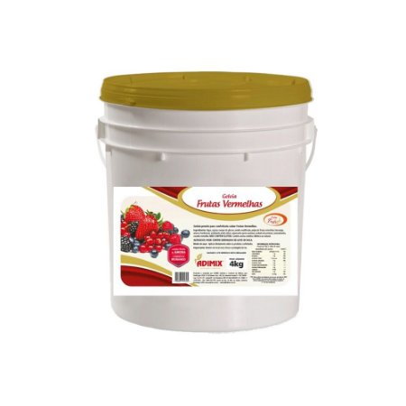 Geléia de Brilho Frutas Vermelhas Adimix 4kg