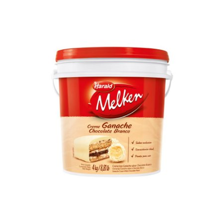 Ganache Harald Chocolate Branco 4kg
