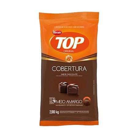 Chocolate Gotas Top Meio Amargo Harald 2,1kg