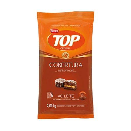 Chocolate Gotas Top Ao Leite Harald 2,1kg