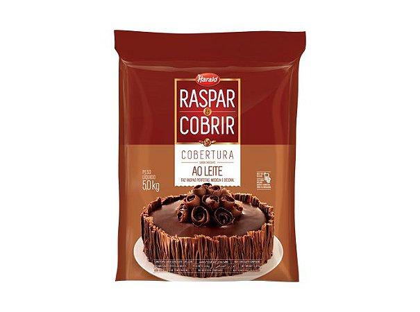 Chocolate Ao Leite Raspar Harald 5kg