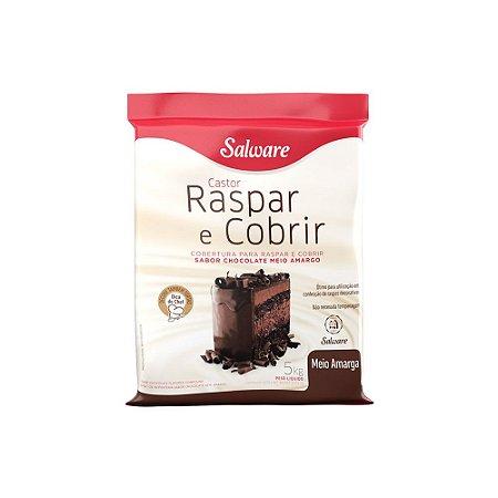 Chocolate Raspar Castor Meio Amargo 5kg