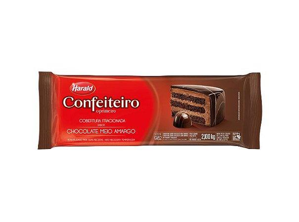 Chocolate Meio Amargo Confeiteiro Fracionado 2,1kg