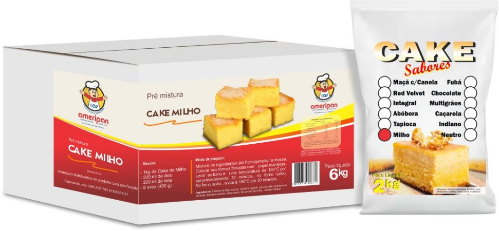 Cake Milho Verde Ameripan 2kg