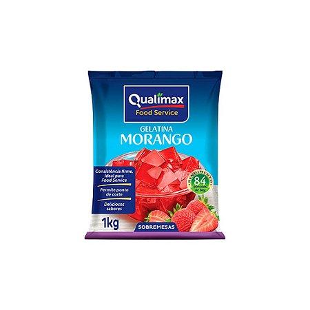 Gelatina Morango Qualimax 1kg
