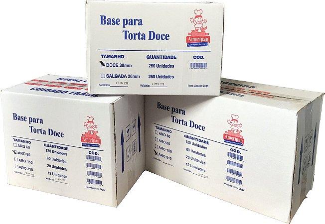 Base Torta Doce 06cm Ameripan 120unid