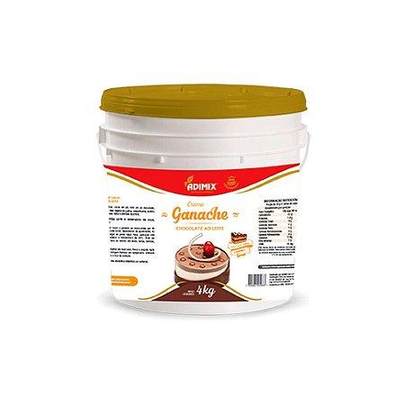 Ganache Adimix Chocolate ao Leite 4kg