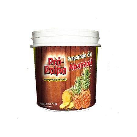 Polpa Pró Polpa Abacaxi 4,3kg