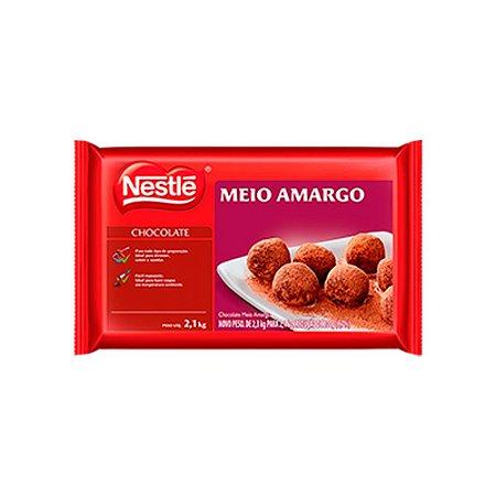 Chocolate Nestlé Meio Amargo 2,1kg