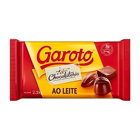 Chocolate Garoto ao Leite 2,1 KG