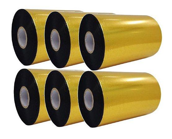 Ribbon Mastercorp K115 Cera/Resina 110x450M - 6 Unidades