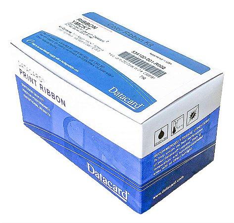 Fita de Impressão Colorida (YMCKT) p/ SD160 (250 impressões) - (Ribbon Datacard cod.534100-001-R002)