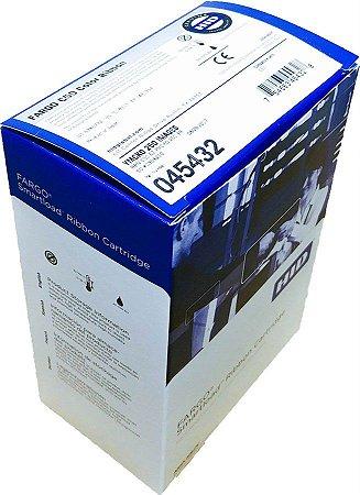 Fita de Impressão Colorida (YMCKO), 250 impressões p/ Fargo C50 - (ribbon Fargo cód. 45432)