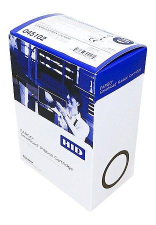 Fita de impressão Preta (K), 1000 impressões p/ Fargo C50/DTC1250e (ribbon Fargo cód. 45102)