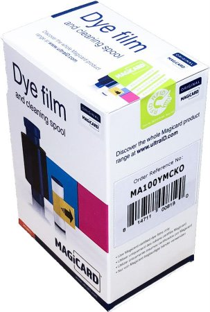 Fita de Impressão Colorida (YMCKO), 100 impressões p/ Magicard Pronto, Enduro e Rio Pro