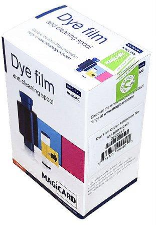 Fita de Impressão Color YMCKO (300 impr) p/ Magicard Pronto, Enduro e Rio Pro - MA300YMCKO