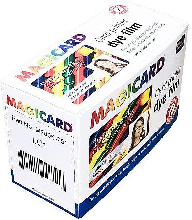 Fita de Impressão Colorida LC1/D (YMCKO), 350 impressões p/ Magicard Avalon, Rio e Tango