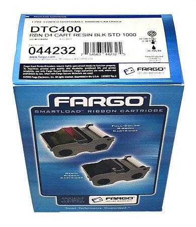 Fita de Impressão Preta 1.000 impressões p/ Fargo DTC400 - Ribbon 44232