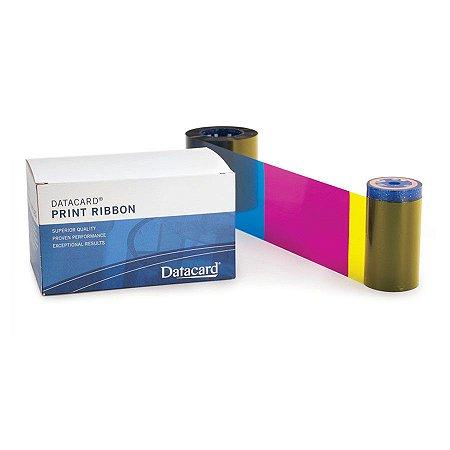 Fita de Impressão Color (YMCKT-KT) p/ Datacard SD360 - 350 impressões - (Ribbon Datacard cod.534700-005-R002) / (necessita estar com o Firmware atualizado)