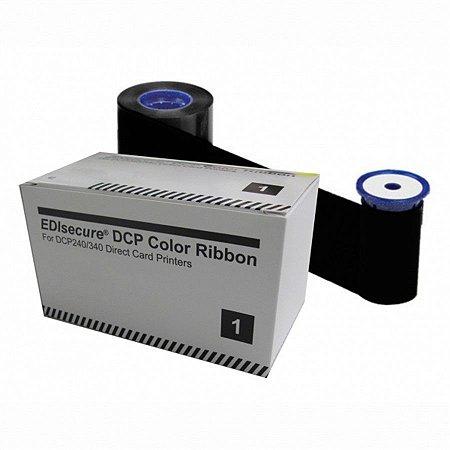 Fita de Impressão Preta K, 1.500 Impressões p/ linha DCP da Matica/ Edicure