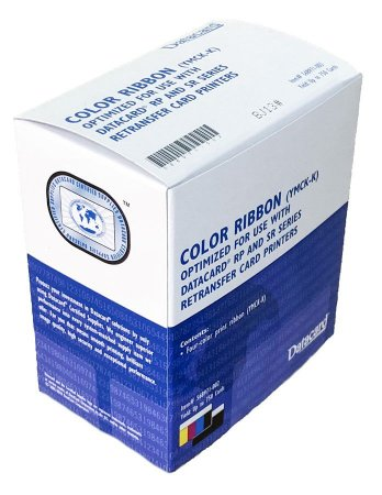 Ribbon Color YMCKK (750 imp.) 568971-002 - Datacard SR300