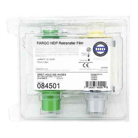 Retransfer Filme Holográfico 84501 p/ HDP5600 500 Impressões