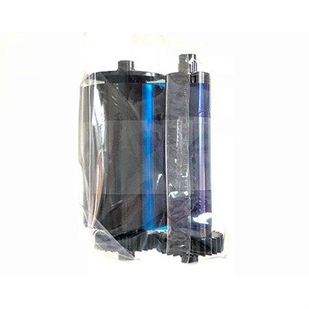 Ribbon IDP Color com Verso Preto Ymckok 650637 Para Smart50 - 200 Impressões