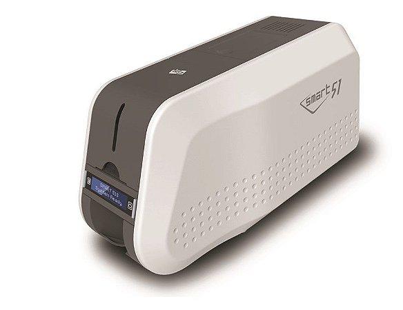 Impressora De Crachás E Cartões IDP Smart-51s Simplex