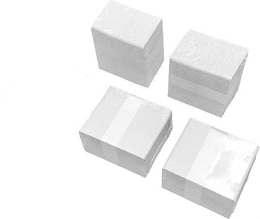 Cartão em PVC Branco - 400 unidades (8,6cm x 5,5cm) - Espessura: 0,76mm