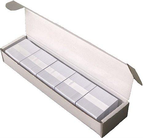 Cartão em PVC Branco - 500 unidades (8,6cm x 5,5cm) - Espessura: 0,76mm