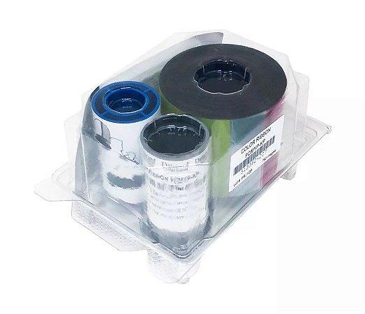 Ribbon Datacard Color com UV - 750 Impressões - 513382-207