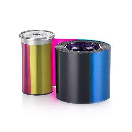 Ribbon Datacard Color C/ Verso Preto P/ Sigma DS2 - 525100-005
