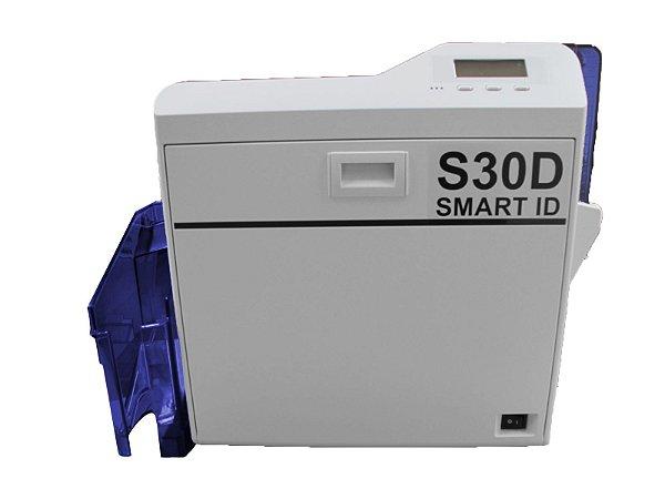 Impressora de Crachás de Retransferência S30D Duplex