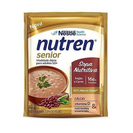Nutren Senior Sopa de Feijão com Carne - 40g