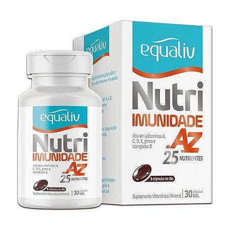 Equaliv Nutri Imunidade A-Z - 30 Cápsulas