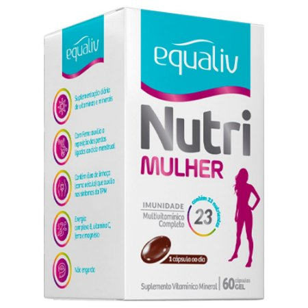 Equaliv Nutri Mulher - 60 Cápsulas