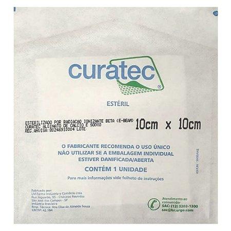 Curativo de Alginato de Cálcio e Sódio Curatec - 10x10