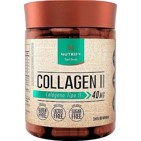 Collagen II - 60 Cápsulas Nutrify