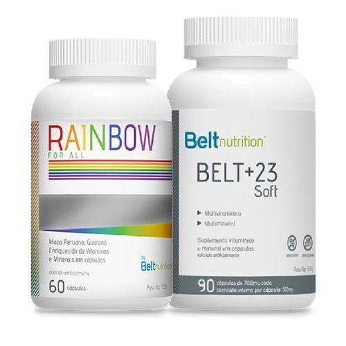 Combo Belt+23 soft   +  Belt Rainbow