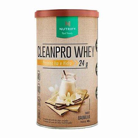 CleanPro Whey Nutrify - Baunilha - 450g