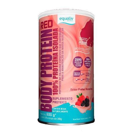 Body Protein Equaliv - Frutas Vermelhas - Proteína Isolada 600g