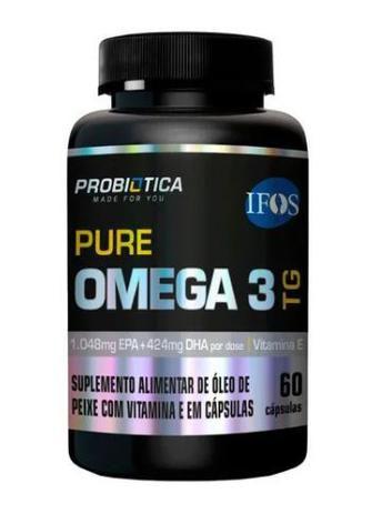 Ômega 3 TG Probiótica - 60 Cápsulas