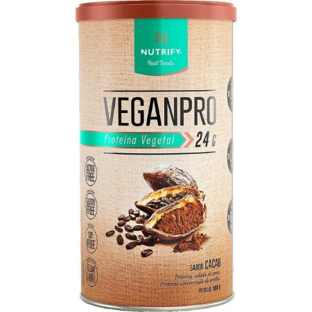 VeganPro Nutrify - Cacau - 550g
