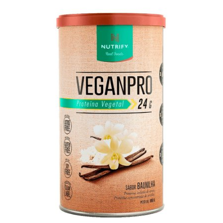 VeganPro Nutrify - Baunilha - 550g