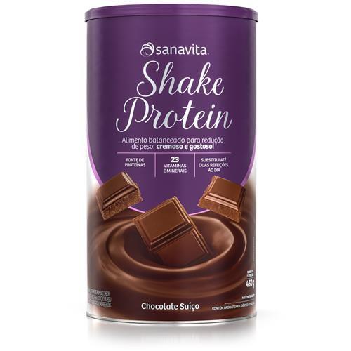 Shake Protein Sanavita - Chocolate - 450g