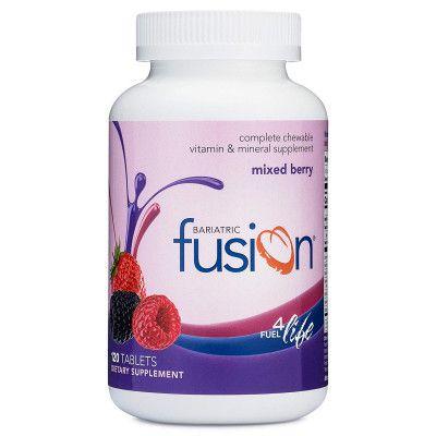 Bariatric Fusion - Frutas Vermelhas - 120 Pastilhas